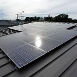 太陽光パネルの設置完了!