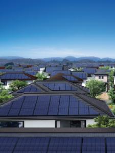 太陽光発電普及イメージ
